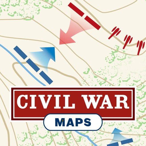 Civil War Battle Maps for iPad