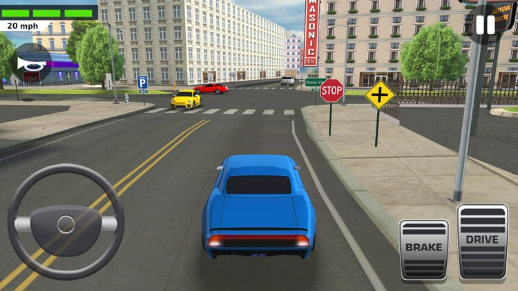 Driving Test Simulator Game screenshot-8