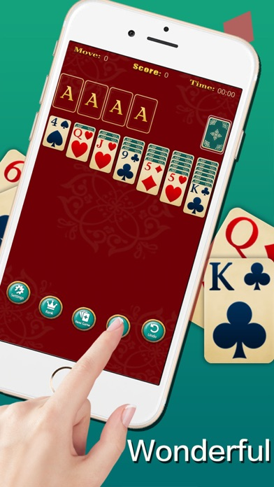 Screenshot for Solitaire ◆ in Azerbaijan App Store