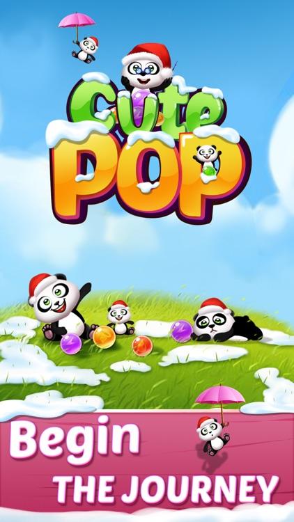 Cute Pop: bubble shooter game screenshot-3