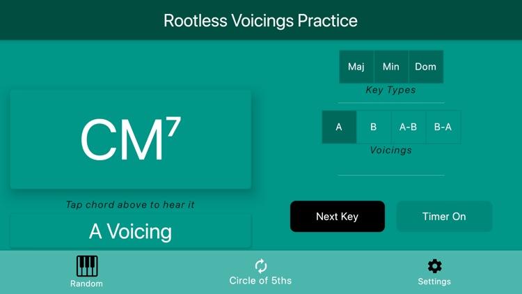 Rootless Voicings screenshot-5