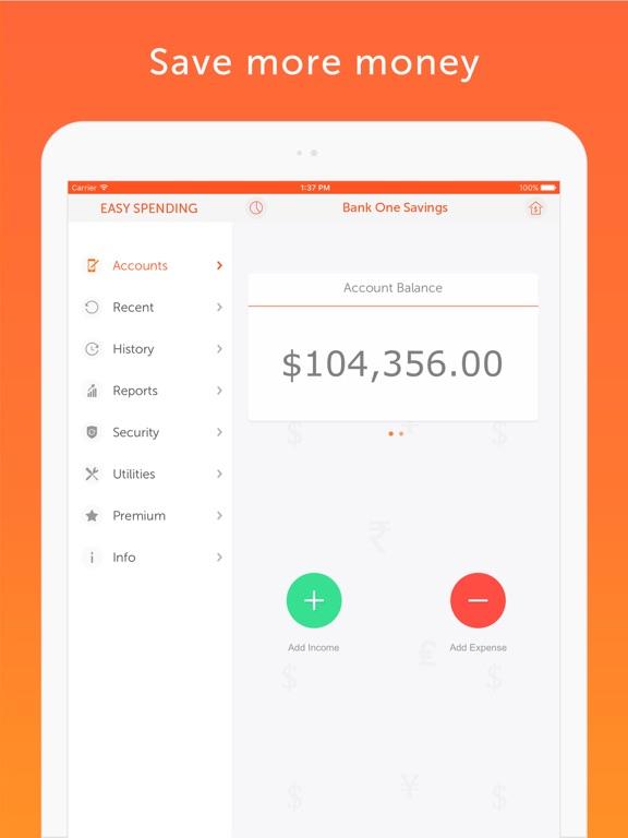 Screenshot #5 for Easy Spending, Expense tracker
