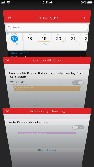 Screenshot for Fantastical 2 for iPhone in United Arab Emirates App Store