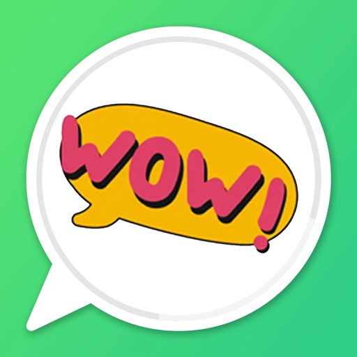 English Chat Stickers icon