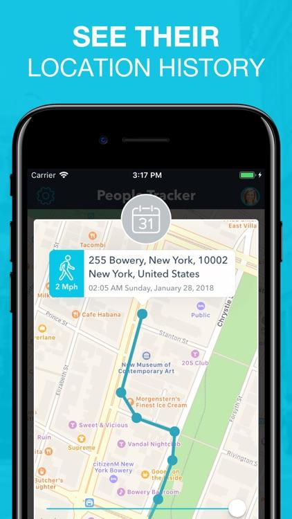 People Tracker - GPS Locator screenshot-3