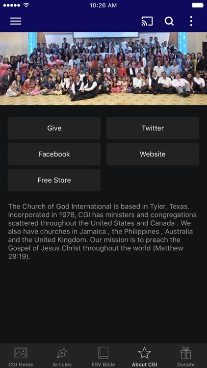 CGI Digital Network by Church of God International Media