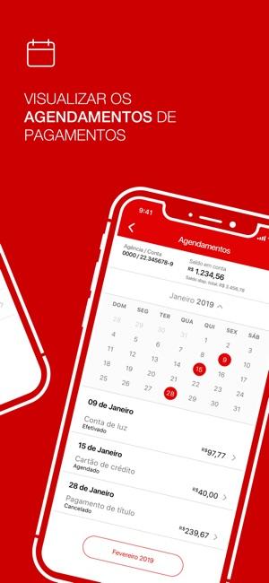 Santander Brasil Screenshot