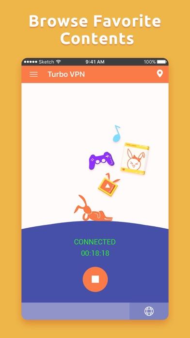 Turbo VPN Private Browser app image