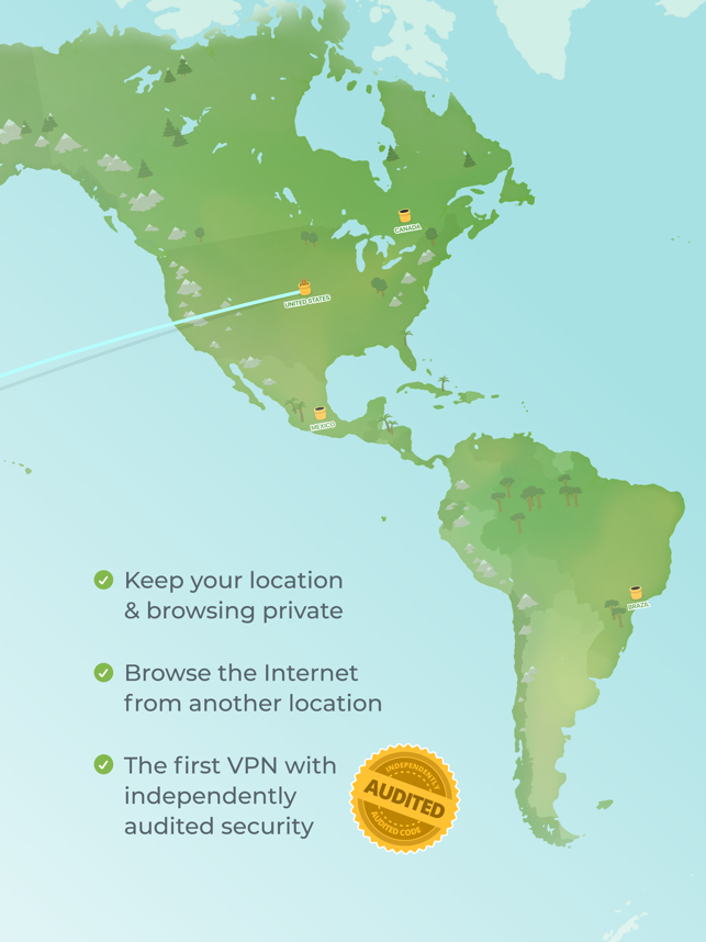 ‎TunnelBear: Secure VPN & Wifi Capture d'écran