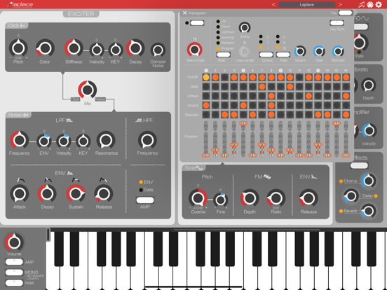 Laplace - AUv3 Plugin Synth