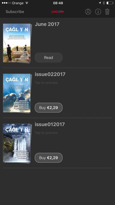 Çağlayan Dergisi Screenshot