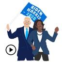 Animated Biden And Harris 2020