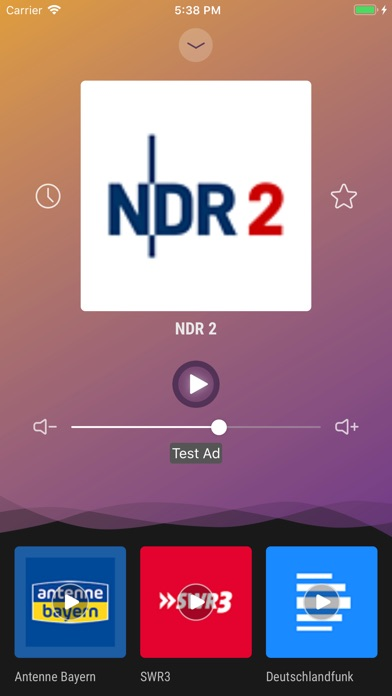 Screenshot for Radio Germany - Live FM Player in Netherlands App Store