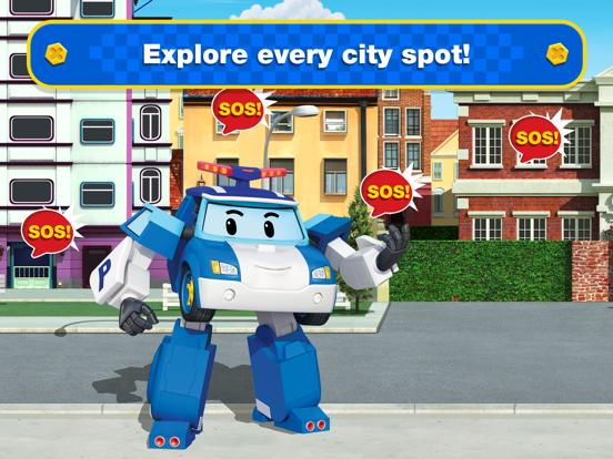 Ipad Screen Shot Robocar Poli: Rescue City Cars 2
