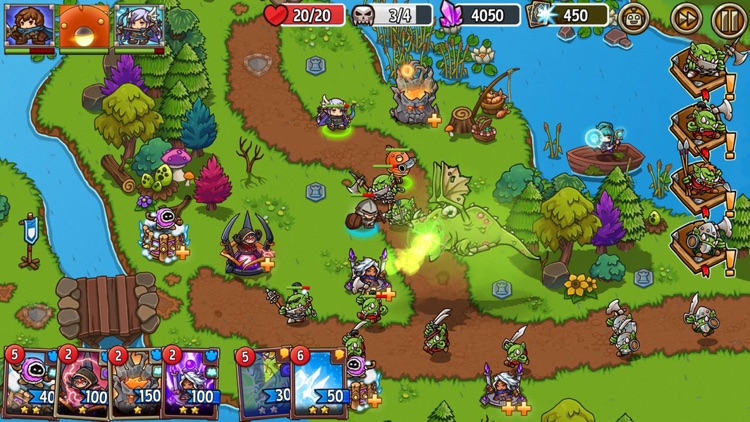 Crazy Defense Heroes: Epic TD screenshot-7