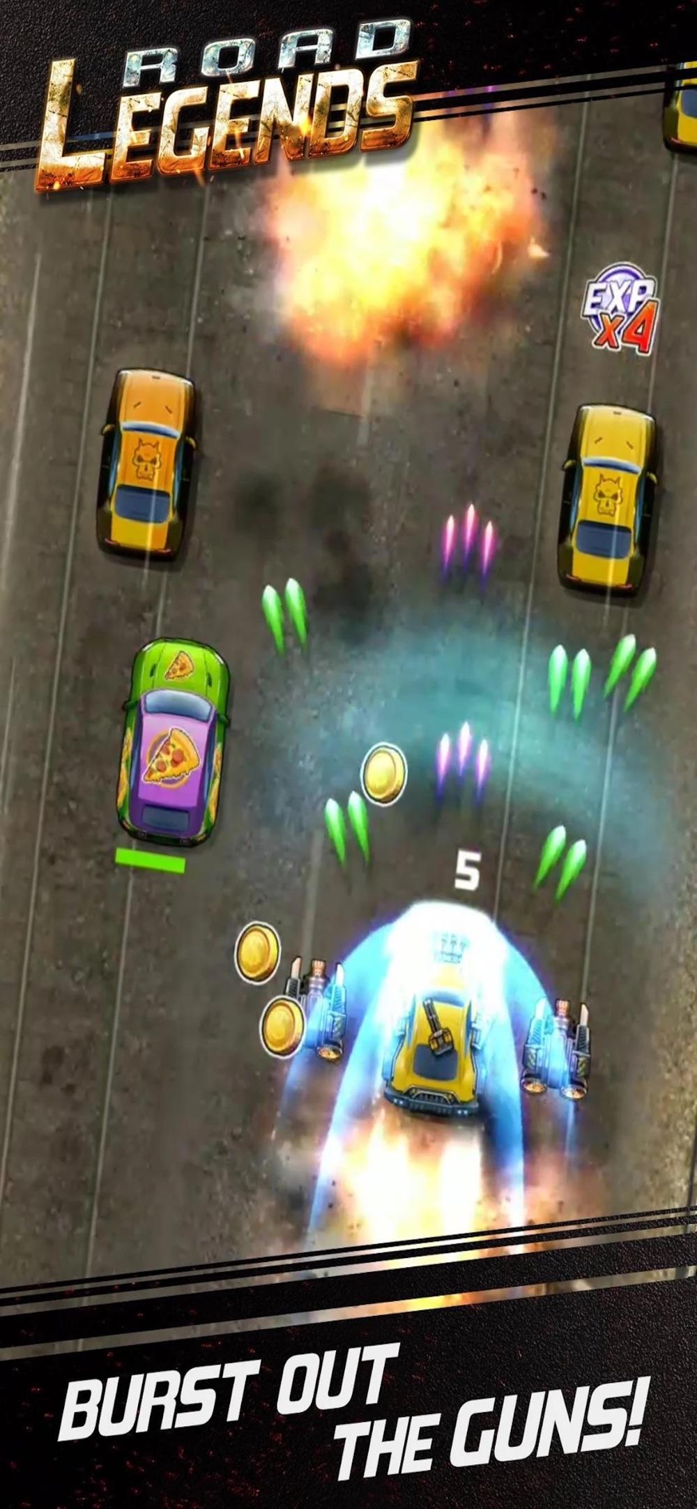 Racing in car games-driving