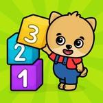 Kinder spelletjes leren tellen