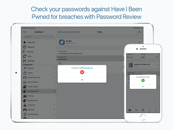 Codebook Password Manager screenshot 14