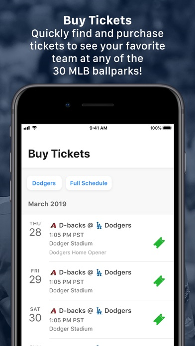 Screenshot for MLB Ballpark in United States App Store