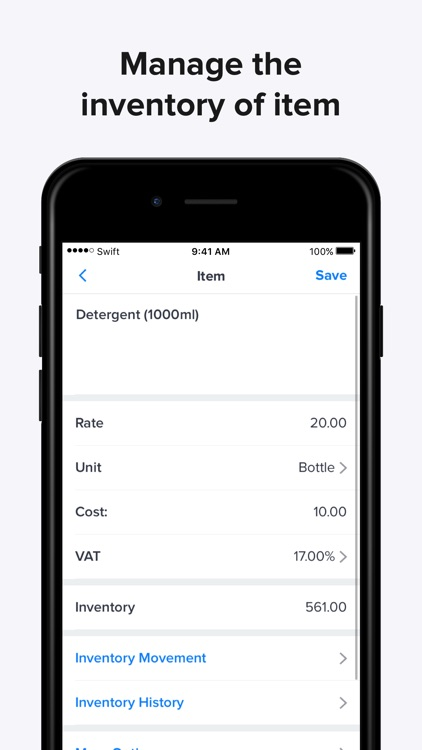 Invoice Maker, Swift Invoice screenshot-7