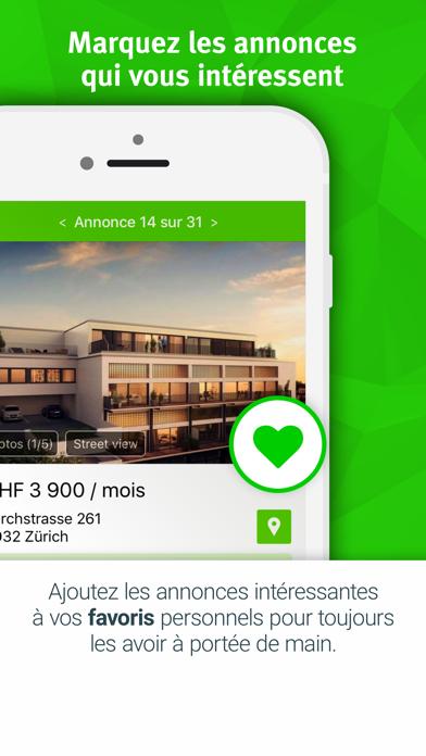 Screenshot #3 pour Immobilier Suisse