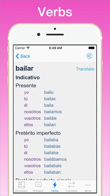 Spanish Translator + © screenshot-4