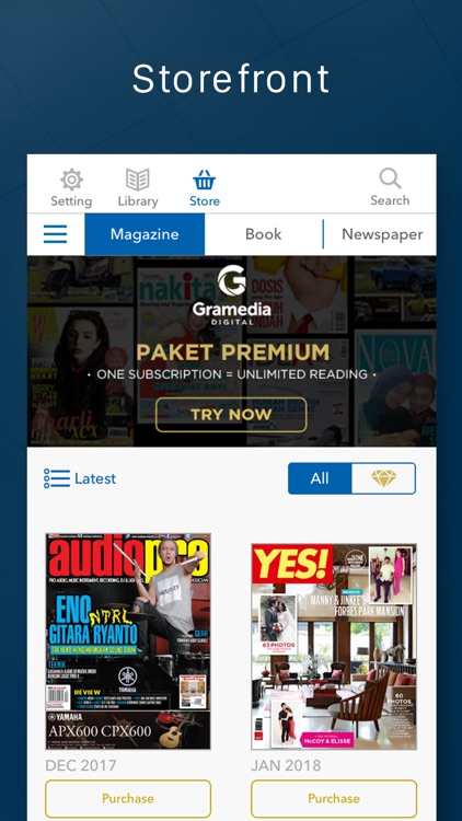 Gramedia Digital screenshot-0