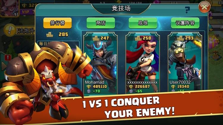 Heroes Clash - Zombies War