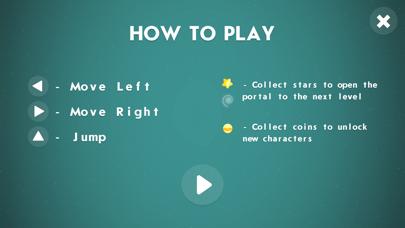 Little Black Ball Adventure screenshot 2