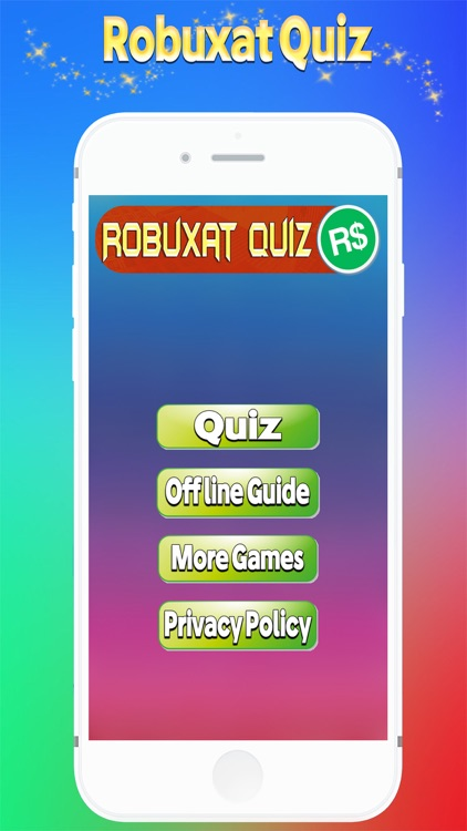 Robuxat Quiz For Robux