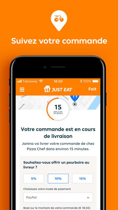 messages.download Just Eat FR - Livraison Repas software