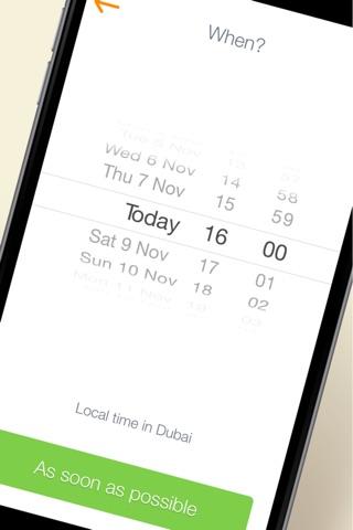 Скриншот из FARIS LIMO - Passengers