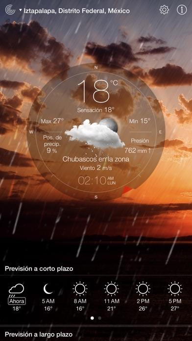 Screenshot for Tiempo en Vivo° in Chile App Store