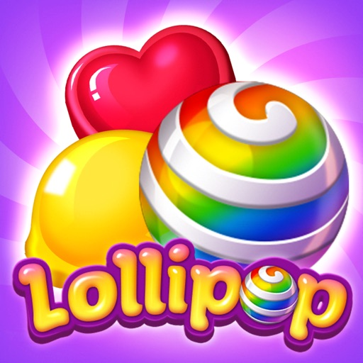 Lollipop: Sweet Taste Match3 icon