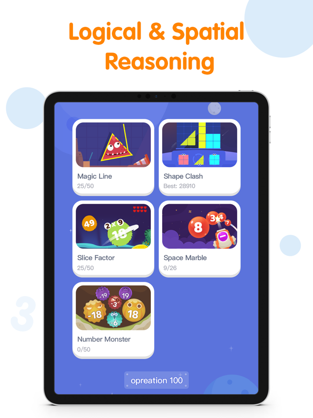 ‎Ahaaa Math - Learning Games Screenshot