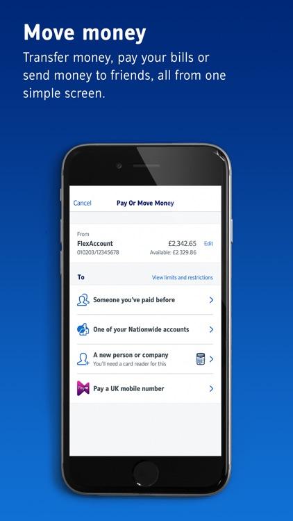 Nationwide Mobile Banking screenshot-3