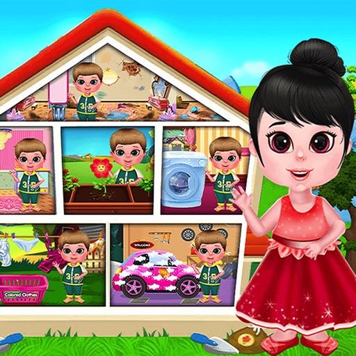 Clean Up Girls : Housebites