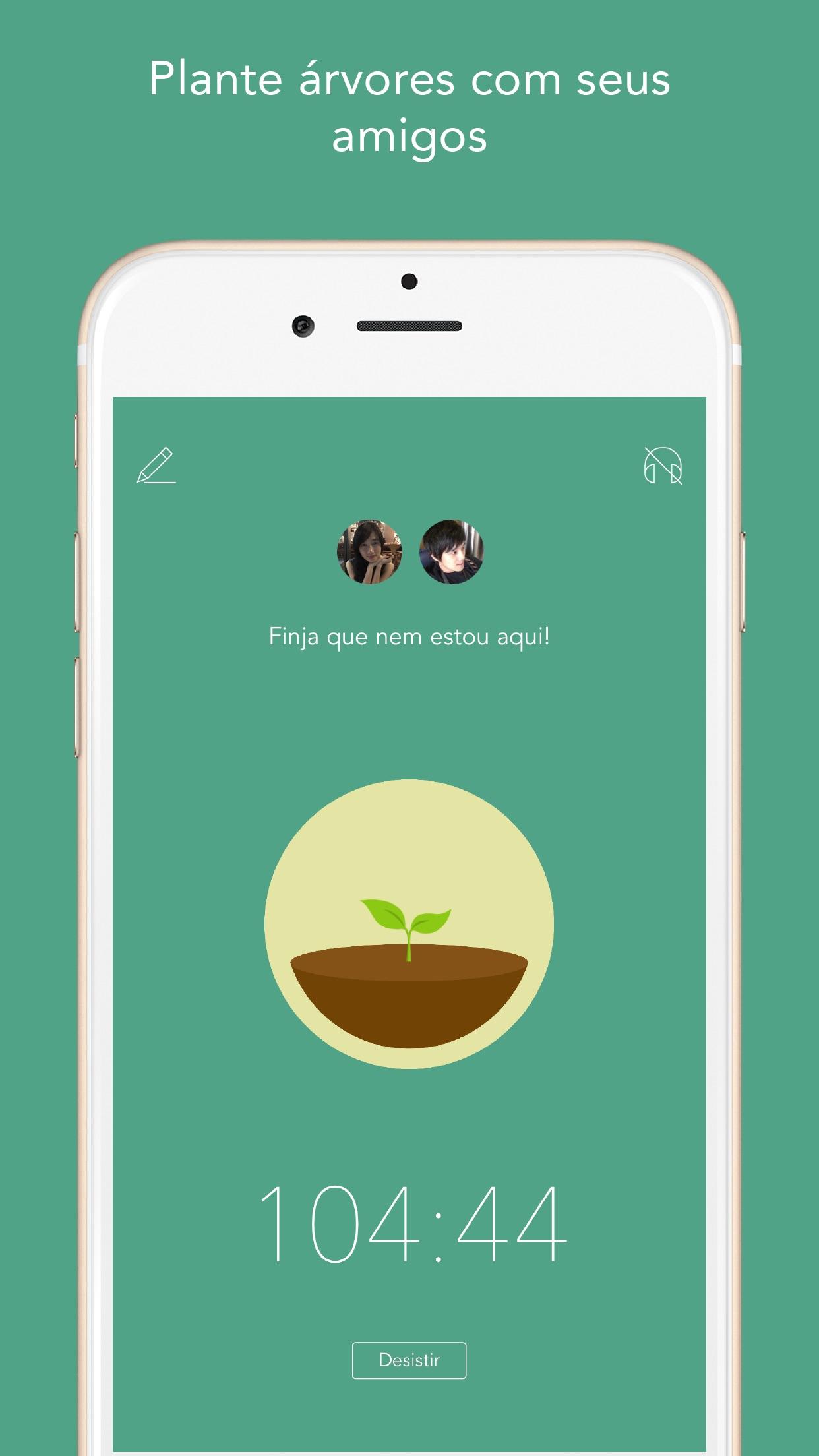 Screenshot do app Forest - Mantenha o foco