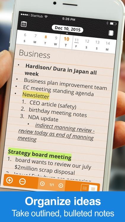 Daily Notes + Tasks screenshot-3