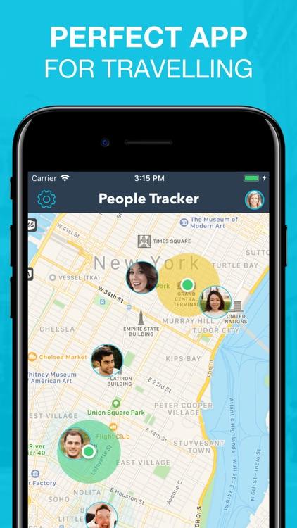 People Tracker - GPS Locator screenshot-6