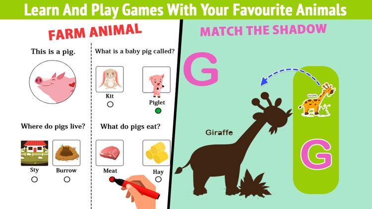 Learning Animals For Toddlers By Manan Shah