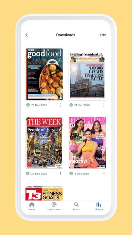 CAFEYN – News and magazine screenshot-7