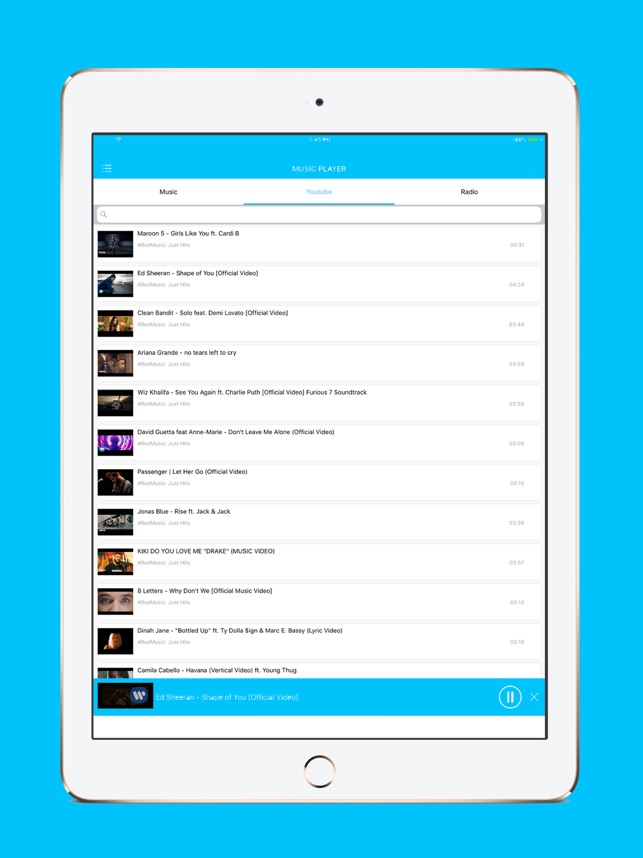 Tubydi - Music Video Player on the App Store