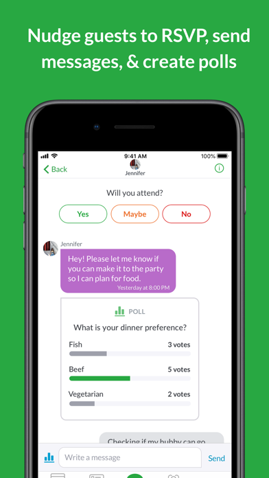 Evite: Online & Text Invites Screenshot
