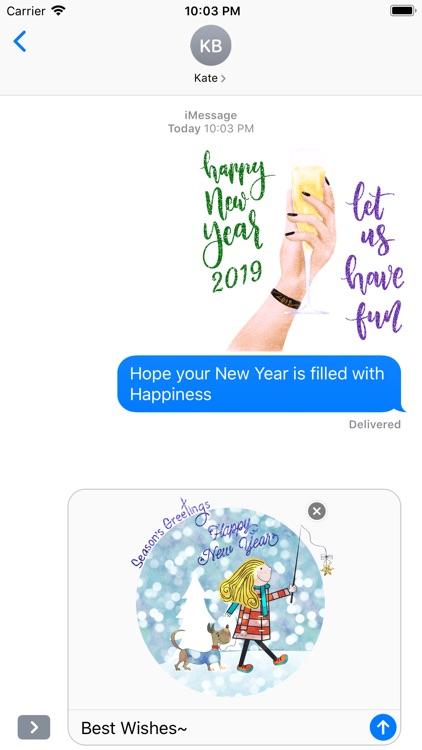 Happy New Year 2019 - Animated screenshot-4