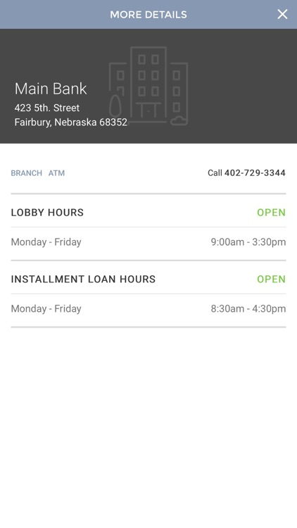 First National Bank Fairbury