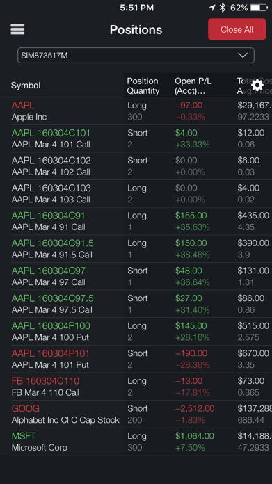 TradeStation Mobile Screenshot