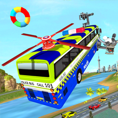 Flying Police Bus Driver