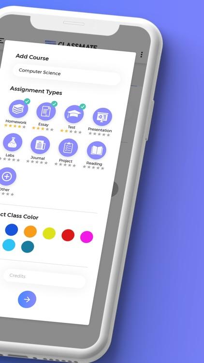 ClassMate: Smart To-Do List screenshot-4