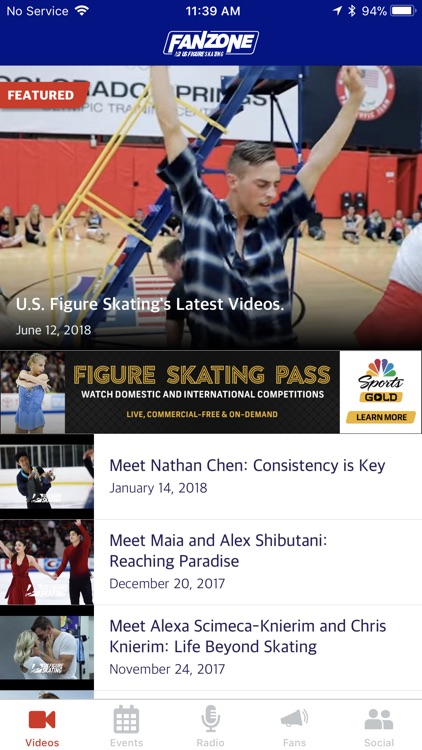 U.S. Figure Skating Fan Zone screenshot-0